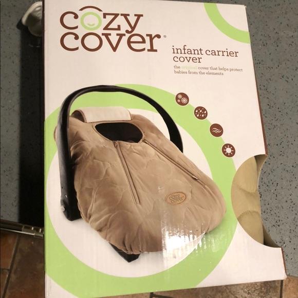 Pleasant New In Box Cozy Cover Infant Car Seat Cover Nwt Inzonedesignstudio Interior Chair Design Inzonedesignstudiocom